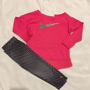Nike toddler girls set